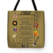 1955 Great Events Tote Bag
