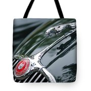 Jaguar Xk 150 Hood Ornament  Tote Bag
