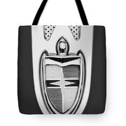 1955 Lincoln Indianapolis Boano Coupe  Emblem -0283bw Tote Bag