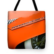 1955 Lincoln Indianapolis Boano Coupe Emblem -0295c Tote Bag