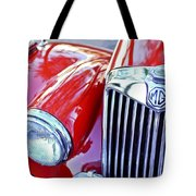 1955 Mg Tf 1500 Grille Tote Bag