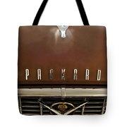 1955 Packard 400 Hood Ornament Tote Bag