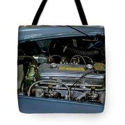 1956 Austin Healey Engine Tote Bag