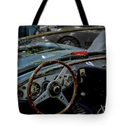1956 Austin Healey Interior Tote Bag