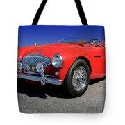 1956 Austin Healey Tote Bag