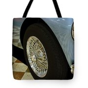 1956 Austin Healey Wheel Tote Bag