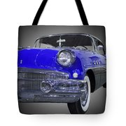 1956 Buick Special Riviera Coupe-blue Tote Bag