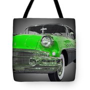 1956 Buick Special Riviera Coupe-green Tote Bag
