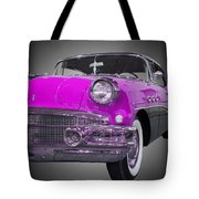 1956 Buick Special Riviera Coupe-purple Tote Bag