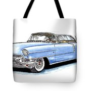 1956 Cadillac Coupe De Ville Tote Bag