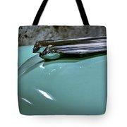 1956 Cadillac Lasalle Hood Ornament Tote Bag