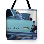 1956 Chevrolet Belair Nomad Rear End Tote Bag