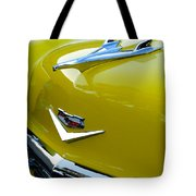 1956 Chevrolet Hood Ornament 3 Tote Bag