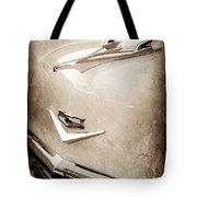 1956 Chevrolet Hood Ornament - Emblem Tote Bag