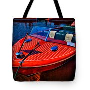 1956 Chris-craft Capri Classic Runabout Tote Bag