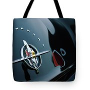 1956 Lincoln Continental Mark II Coupe Rear Emblem Tote Bag