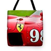 1956 Ferrari 410 Sport Scaglietti Spyder Tote Bag