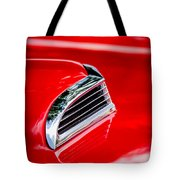 1956 Ford Thunderbird Hood Scoop -287c Tote Bag