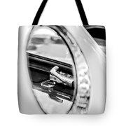 1956 Ford Thunderbird Latch -417bw Tote Bag
