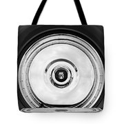 1956 Ford Thunderbird Spare Tire Emblem Tote Bag