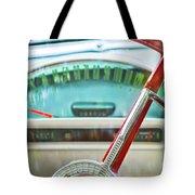 1956 Ford Thunderbird Steering Wheel -260c Tote Bag