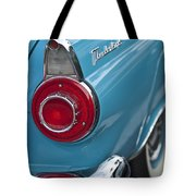 1956 Ford Thunderbird Taillight And Emblem Tote Bag