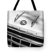 1956 Hudson Rambler Station Wagon Grille Emblem - Hood Ornament Tote Bag by Jill Reger