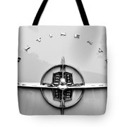 1956 Lincoln Continental Rear Emblem Tote Bag