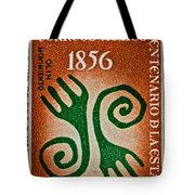1956 Mexico Stamp Tote Bag