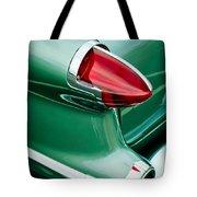 1956 Oldsmobile 98 Taillight Tote Bag