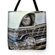 1956 Packard Caribbean Grill Tote Bag