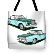1956 Studebaker Coming And Going Tote Bag