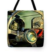 1956 Volkswagen Vw Bug Steering Wheel 2 Tote Bag by Jill Reger