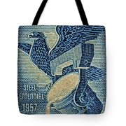 1957 America And Steel Growing Together Stamp Tote Bag