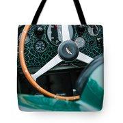 1957 Aston Martin Dbr2 Steering Wheel Tote Bag