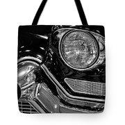 1957 Cadillac Coupe De Ville Headlight Tote Bag