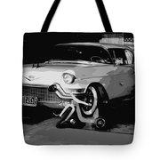 1957 Cadillac Tote Bag