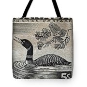 1957 Canada Duck Stamp Tote Bag