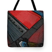 1957 Chevrolet Bel Air Tote Bag