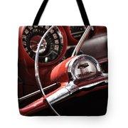 1957 Chevrolet Bel Air Steering Wheel Tote Bag