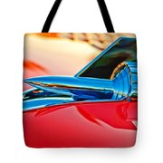 1957 Chevrolet Belair Hood Ornament Tote Bag by Jill Reger