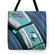1957 Chevrolet Corvette Glove Box Tote Bag by Jill Reger