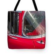 1957 Chevy Bel Air Chrome Tote Bag