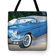 1957 Chevy Convertible Tote Bag