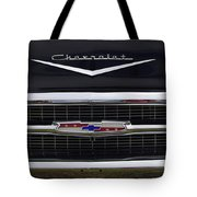 1957 Chevy Del Ray Tote Bag