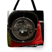 Old Car Headlight Tote Bag