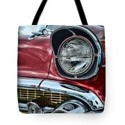 1957 Chevy - My Classic Car Tote Bag