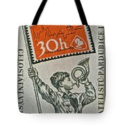 1957 Czechoslovakia Stamp Tote Bag