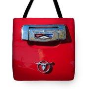 1957 Ford Custom 300 Series Ranchero Emblem Tote Bag