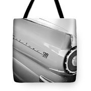 1957 Ford Fairlane 500 Taillight Emblem Tote Bag